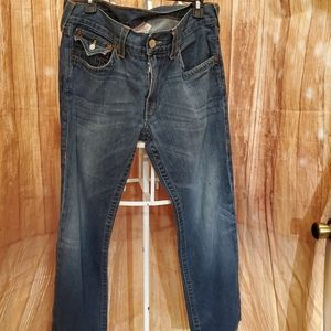 "True Religion Men's Ricky Jeans Sz 34"" W"